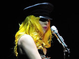 Lady Gaga performs at Palaolympic Turin, Italy