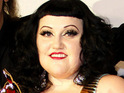 Beth Ditto admits that she threw up and wet herself on a recent night out.