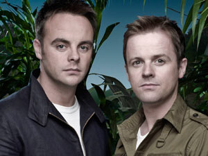 I&#39;m A Celebrity presenters Ant and Dec