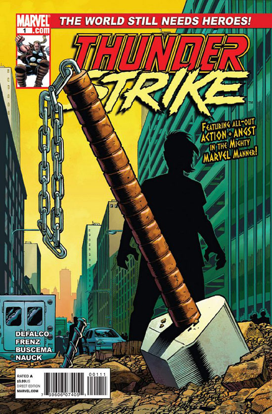 A preview of 'Thunderstrike' #1 cover
