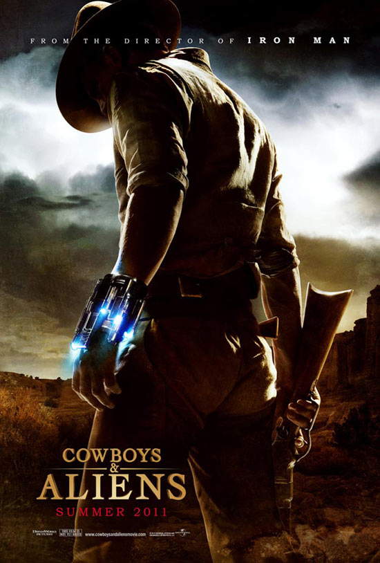 Cowboys & Aliens poster