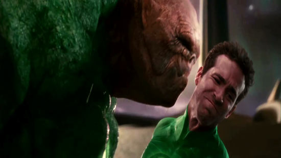 Hal gets a whiff of a fellow Lantern.