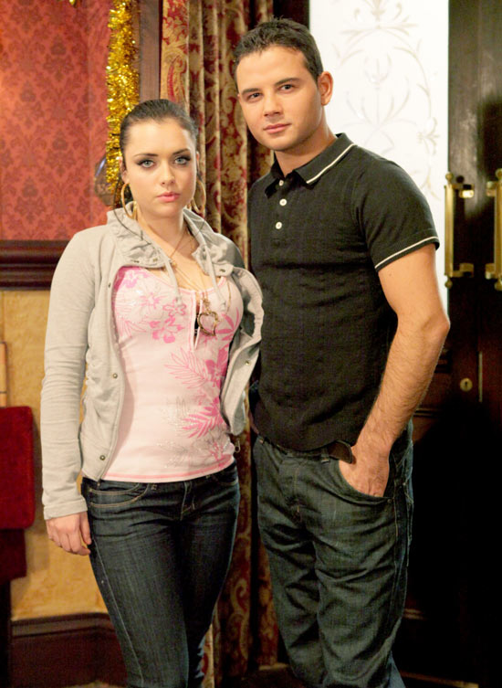 Shona McGarty and Ryan Thomas
