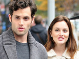Penn Badgley and Leighton Meester