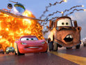 "John Lasseter describes Pixar's upcoming Cars sequel as a ""great spy movie""."