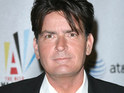 Charlie Sheen confirms that one of his two live-in lovers temporarily ended their relationship today.