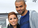 Eva Longoria's ex Tony Parker suffers eye injury in alleged Drake/Brown fight.