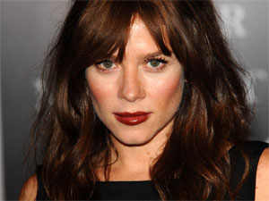 Anna Friel attending the launch party of 'Your Moment Is Waiting' at the Saatchi Gallery in London