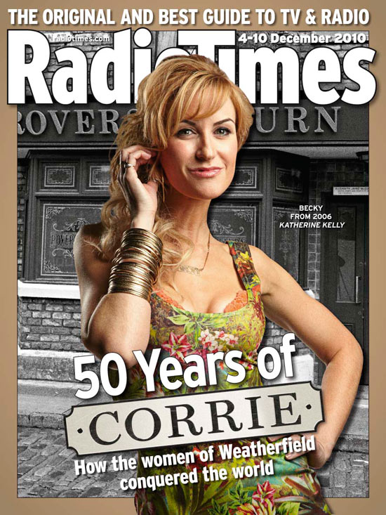 Coronation Street: Radio Times Corrie 50th Anniversary cover