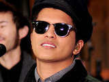 Bruno Mars performing live at Rockefeller Center as part of the 'Today Show'