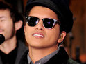 Bruno Mars continues his US chart lead with 'Grenade'