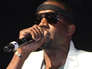Kanye West performs live alongside Nicki Minaj at the Hammerstein Ballroom