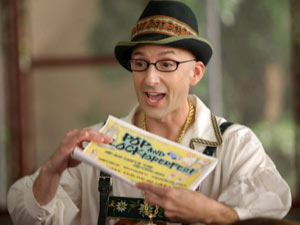 Dean Pelton from Community