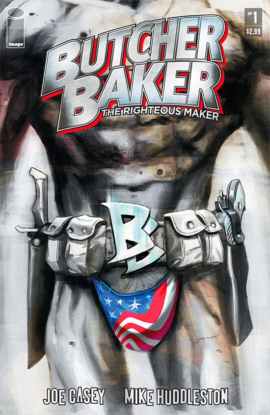 'Butcher Baker The Righteous Maker' artwork, Image Comics