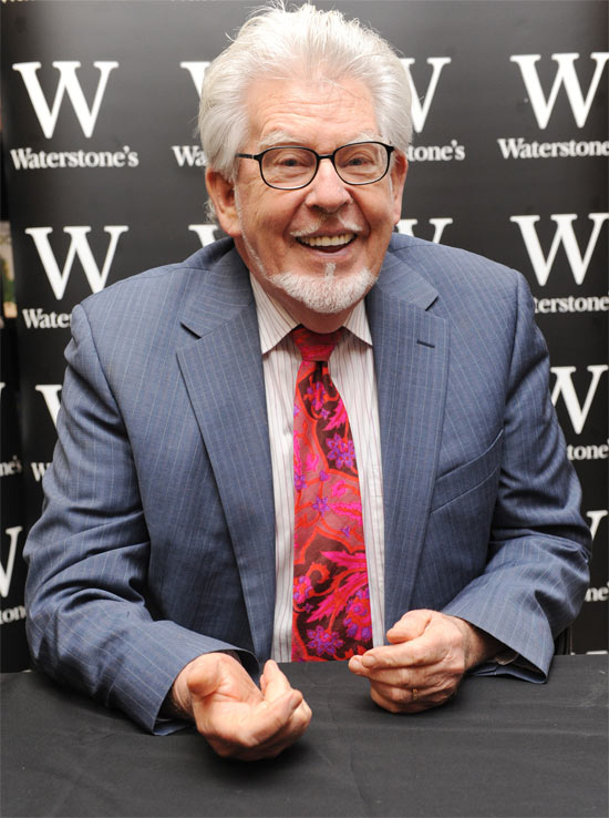 Previous Next Rolf Harris at a signing for his new book 'A Life in Art