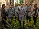 Merlin S03E13: Gwaine, Lancelot, Sir Leon, Prince Arthur, Percival and Elyan