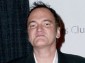 "Rie Rasmussen describes director Quentin Tarantino as a ""genius""."