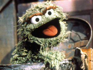 Oscar The Grouch from Sesame Street