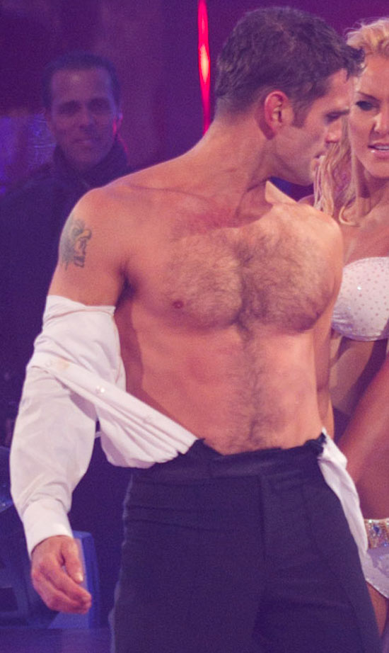 Scott Maslen on Strictly Come Dancing