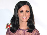 Katy Perry attending American radio station KIIS FM&#39;s Jingle Ball concert held in Los Angeles