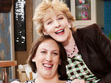 Miranda and her mum in Miranda
