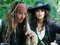 Click in to get a look at Johnny Depp and Penelope Cruz in Pirates Of The Caribbean: On Stranger Tides.