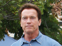 Arnold Schwarzenegger says that his teenage son is feeling better after a surfing accident.