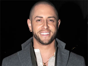 X Factor creative director/choreographer Brian Friedman leaving London's Whisky Mist nightclub