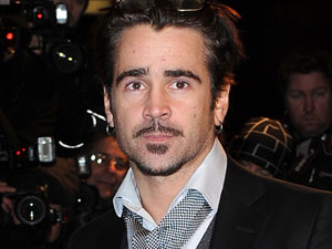 Colin Farrell arriving at the UK Premiere of 'The Way Back' in the London