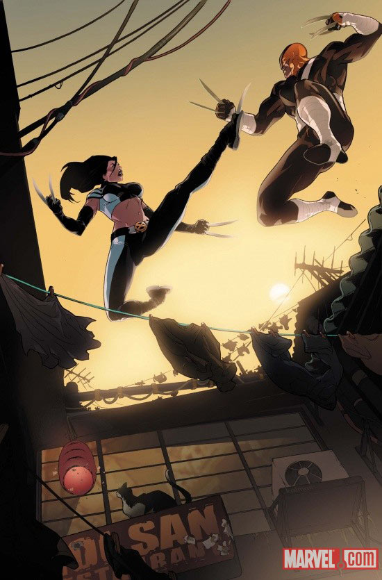 Daken: Dark Wolverine collision