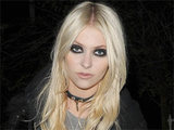 Taylor Momsen leaving a private residence in London used for a special photoshoot