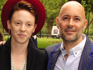 La Roux (Elly Jackson and Ben Langmaid)