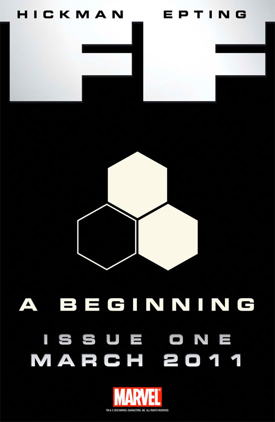 FF, A Beginning, Issue 1