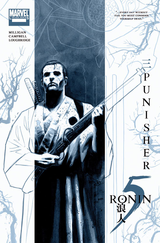 5 Ronin: David Aja covers