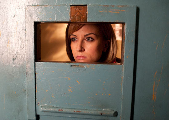 Becky loses it when she's locked in her prison cell