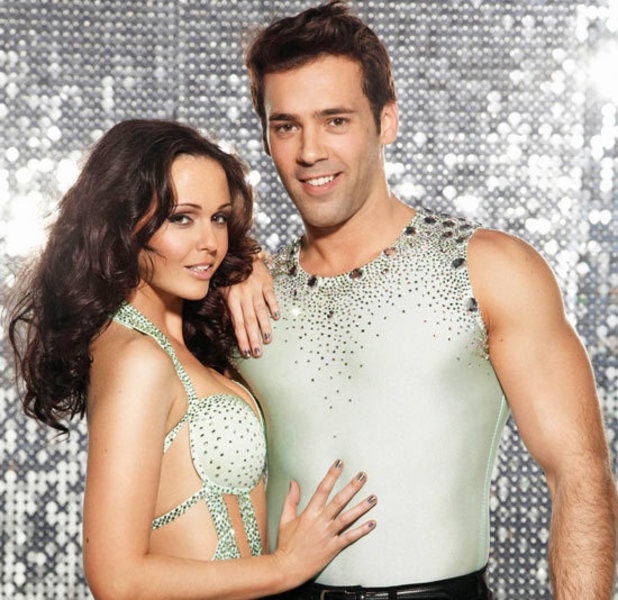 Jennifer Metcalfe and Sylvain Longchambon on Dancing on Ice