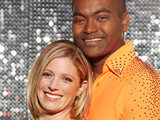 Johnson Beharry and Jodeyne Higgins on Dancing on Ice