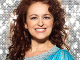 Nadia Sawalha on Dancing on Ice