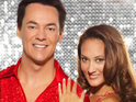 "'Comedy' Dave Vitty says that he and his Dancing On Ice partner Frankie weren't ""knobbing""."
