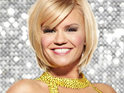 "Kerry Katona says that she is ""black and blue"" with bruises after this week's Dancing On Ice training."