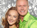 Dancing On Ice pro Nina Ulanova defends Steven Arnold's workrate on the show.