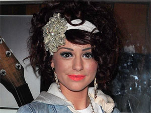 Ex-X Factor finalist Cher Lloyd makes an appearance at 'Pop Factory Live' in Liverpool, England