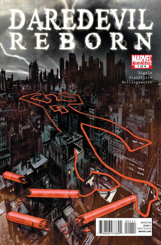'Daredevil Reborn' teaser (Marvel)