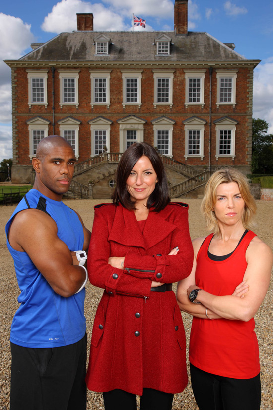 Davina, Ricahrd and Angie on The Biggest Loser UK