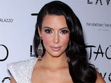 Kim Kardashian celebrates the New Year at the 'Tao' nightclub in Las Vegas