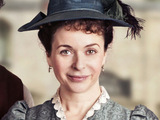 Julia Sawalha as Dorcas Lane in Lark Rise to Candleford