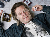 William H Macy as Frank Gallagher in Shameless US