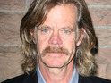 William H. Macy reveals that he has shot sex scenes with Joan Cusack, who he used to babysit.