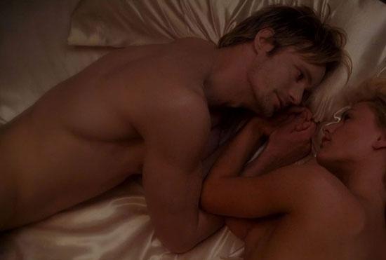Alexander in bed