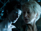 Ben Wishaw and Helen Mirren in 'The Tempest'